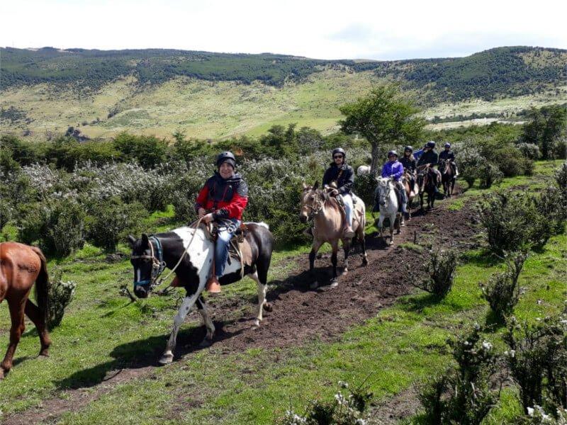 Cabalgata Fotos.Horseback Riding Half Day In Puerto Natales