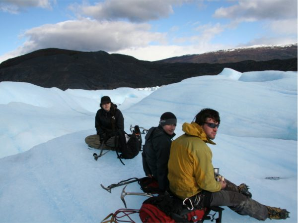 Glaciar grey caminata