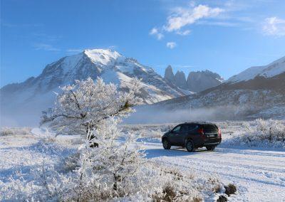 Jeep invierno