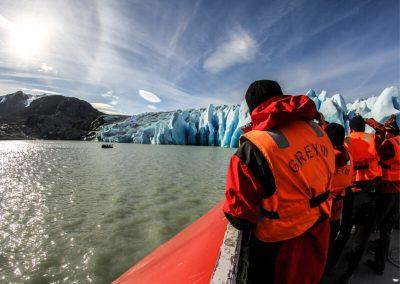 Navegación Glaciar Grey