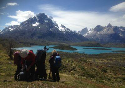 Un Paso en Torres del Paine - Lago Pehoe