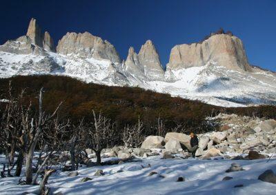 Valle frances invierno
