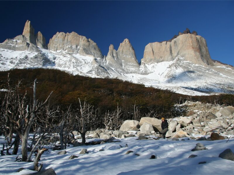 Circuito W Torres Del Paine Camping : Torres del paine w in winter niko s two adventure