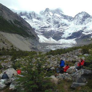 Valle Francés y Glaciar