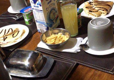 Desayuno Hostal